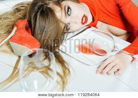 Glamour Srunk Woman