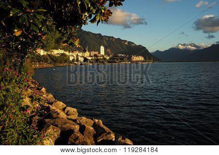 Amazing View Of Lake Geneva