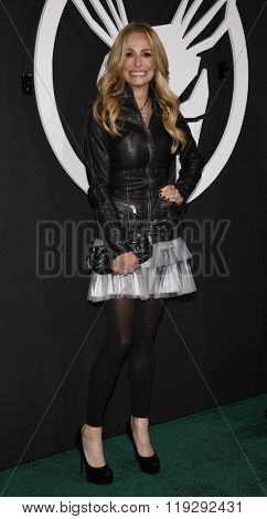 Taylor Armstrong at the Los Angeles Premiere of