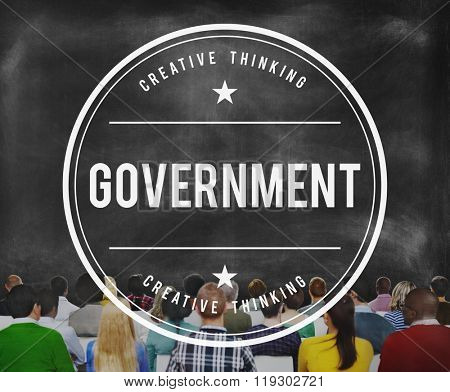 Government Governance Conuntry Head Concept