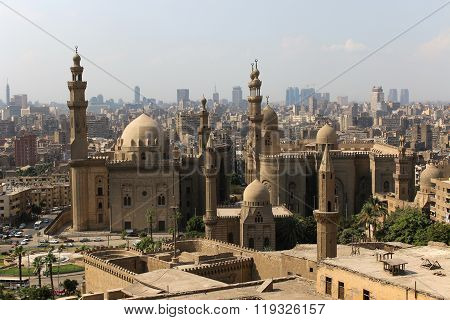 Mosque-madrassa Of Sultan Hassan. Cairo. Egipt.