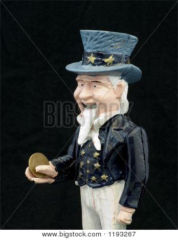 Uncle Sam Eats Penny