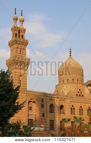 View Of The Ancient Mosque In Cairo. Egypt