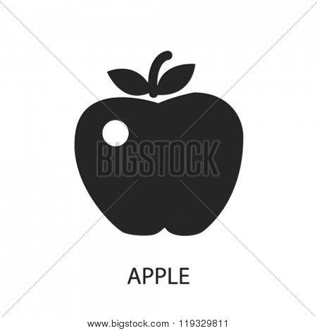 apple icon, apple logo, apple icon vector, apple illustration, apple symbol