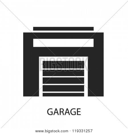 garage icon, garage logo, garage icon vector, garage illustration, garage symbol