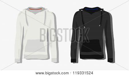 realistically painted hoody