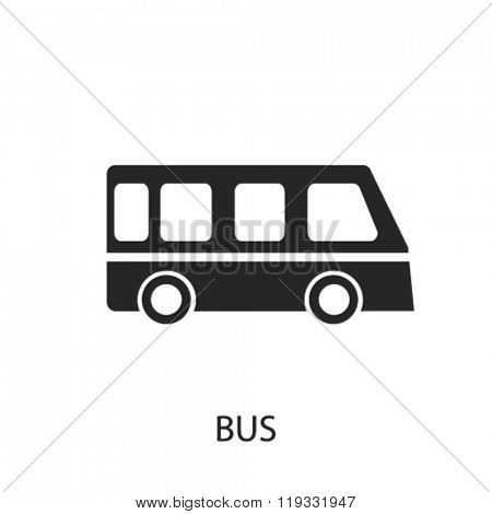bus icon, bus logo, bus icon vector, bus illustration, bus symbol