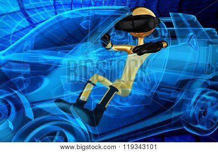 Virtual Reality VR Driving