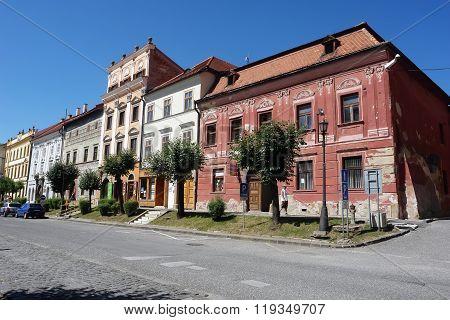 Street In Levoca Town.