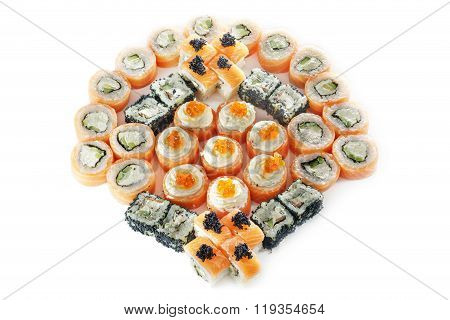 Different Types Of Sushis