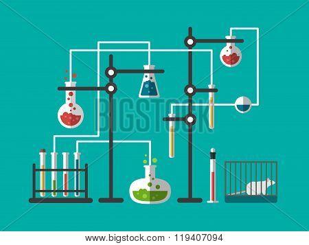 Laboratory design flat