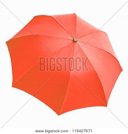 Red Umbrella Vintage