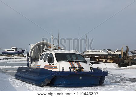 hovercraft Russian Emergencies Ministry