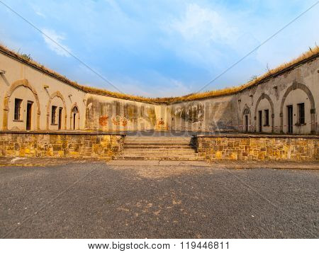 Execution ground in Terezin Fortress
