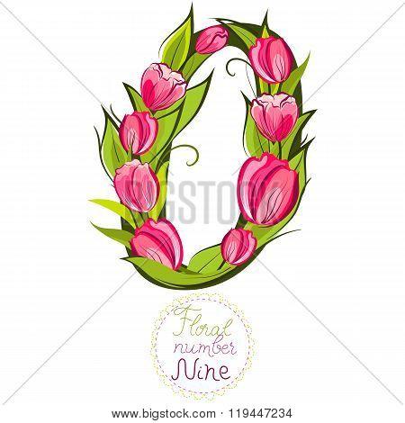Floral Number Zero