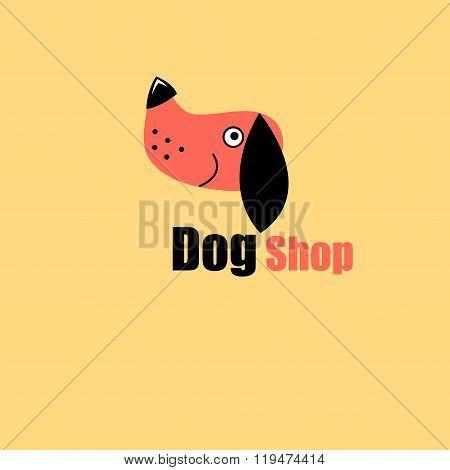 One Logo Dog Portrait