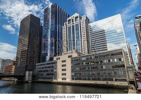 Chicago, Il/usa - Circa July 2015: General Growth Building Of Downtown Chicago,  Illinois