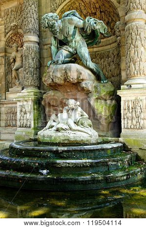 Medicis Fountain, Paris