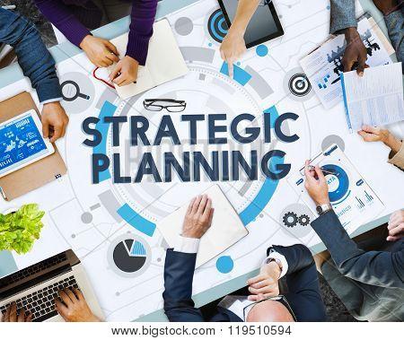 Strategic Planning Process Action Plan Concept