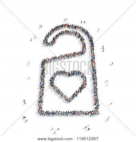 people  shape  tag love