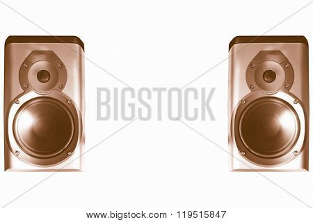 Speakers Pair Vintage