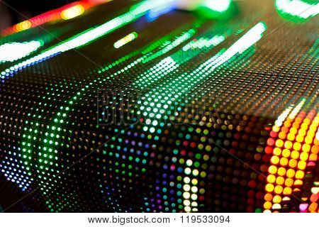 Bright Colored Green Curved Led Smd Wall