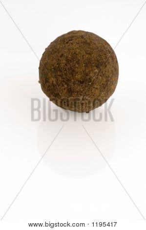 Brandy Truffle Isolated