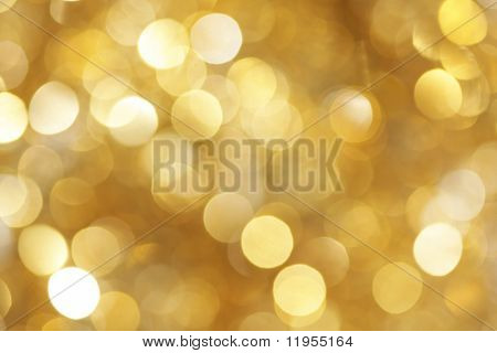 Golden light background
