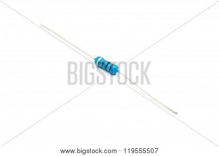 Resistors Isolated  On White Background