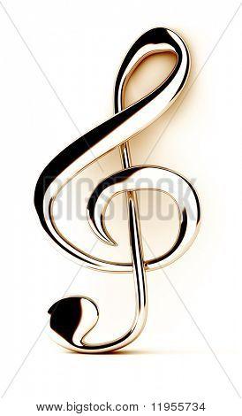 Treble clef