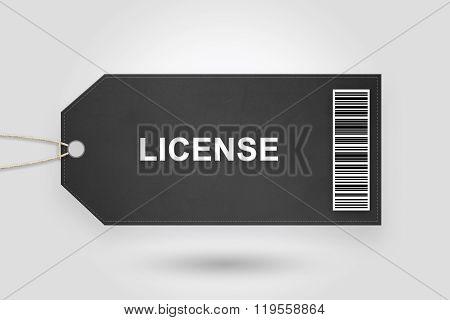 License Price Tag