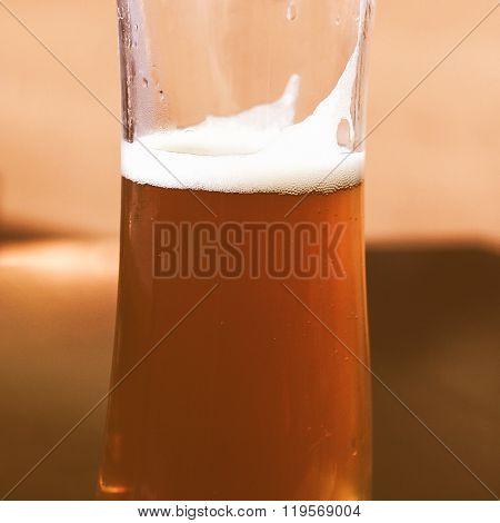 Retro Looking Beer Picture
