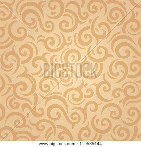 Pale retro ocher vintage background design