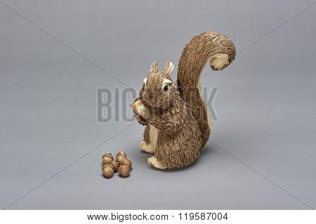 Gray Squirrel (ornament)