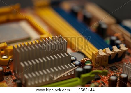 motherboard, taken in large part by part