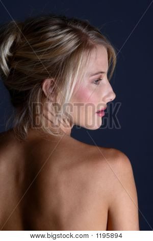 Naked Blond Back