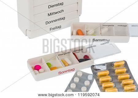 tablet dispenser and tablets