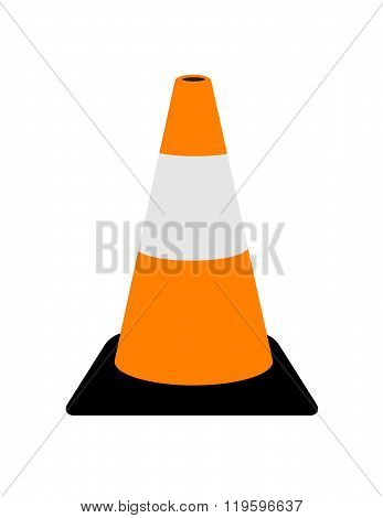 Vector Traffic Cone Graphic