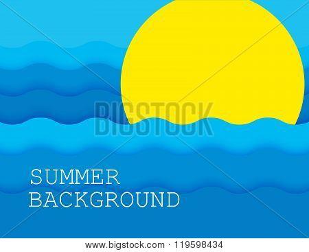 summer background. vector