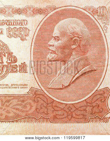 Lenin Picture Vintage