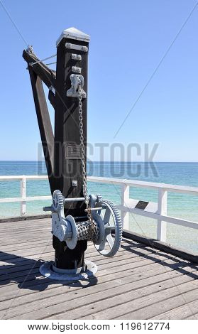 Cantilever Winch with Seascape