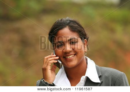 Businesswoman ready for work