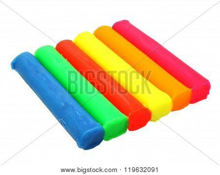 Color children's plasticine