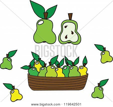 Pears In A Set