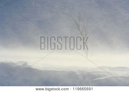 Blowing and drifting snow