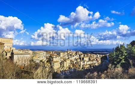 Caprarola - beautiful medieval village in Italy, Viterbo provinc