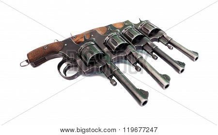 Old Martial Revolvers