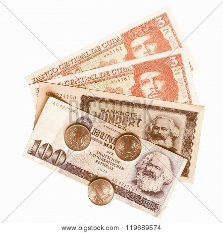 Banknotes Vintage