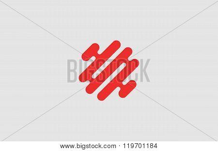 Creative logo. Brain logo. Minimalistic logo design. Abstract logo.