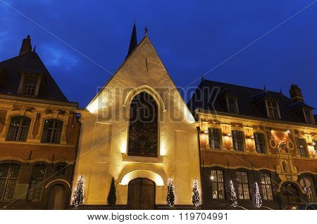 Small Church In The Center Of Lille